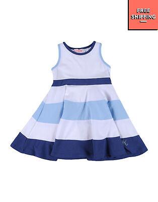 MIRTILLO A-Line Dress Size 9M Striped Pattern Sleeveless