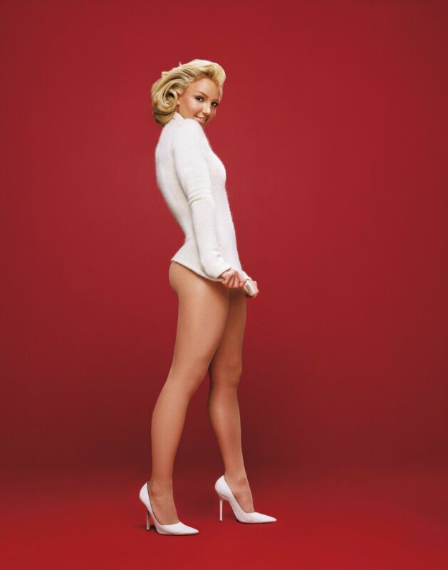 Britney Spears Unsigned 8x10 Photo (63)