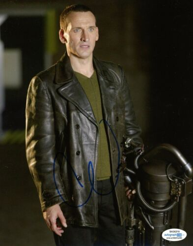 Christopher Eccleston Doctor Who Autographed Signed 8x10 Photo ACOA