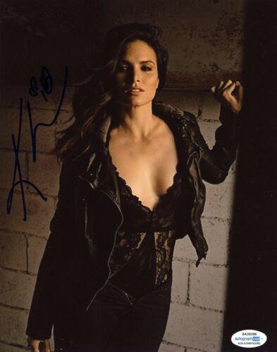 Katrina Law Sexy Autographed Signed 8x10 Photo ACOA #2
