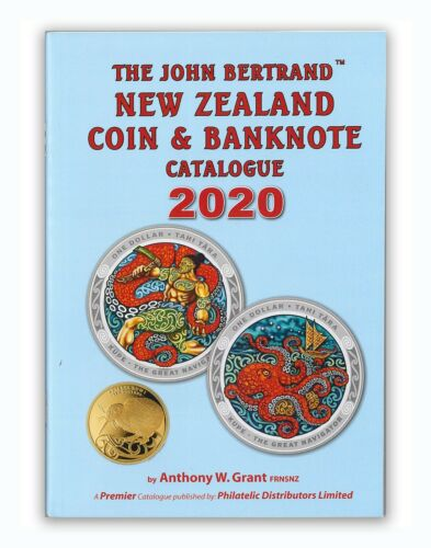 New Zealand 2020 Coin & Banknote Catalogue - The John Bertrand A5 100 Pages