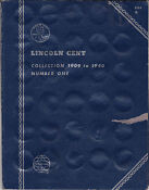 Lincoln Cent Collection 1909