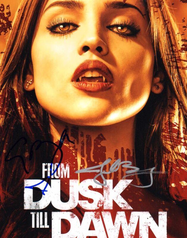 GFA From Dusk Till Dawn * EIZA GONZALEZ & JAKE BUSEY * Signed 8x10 Photo COA