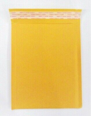 Kraft Bubble Mailers Padded Shipping Protection Envelopes Lot Of 25 New In Pack