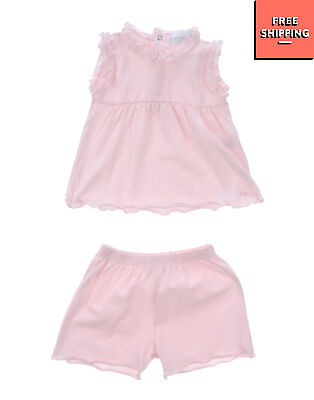 STORY LORIS Top & Shorts Set Size 1M Ruffle Made in Italy