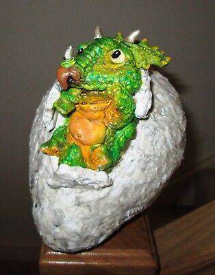 Baby Triceratops one of a kind hand made sculpture for sale  Liskeard
