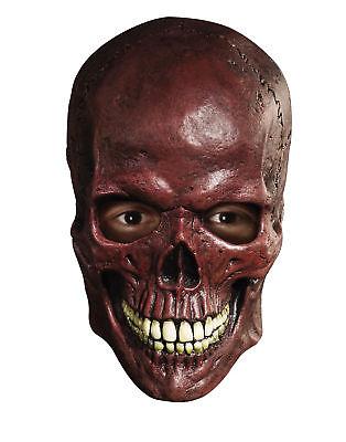 Blood Skull Overhead Latex Mask Horror Halloween Costume Accessory