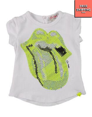 SO TWEE BY MISS GRANT T-Shirt Top Size 12Y / 158-164CM Rhinestoned Lips