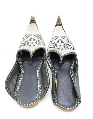 Embroidered Wedding Shoes (Shoes Silver Embroidered India Leather Wedding Shoes #6)