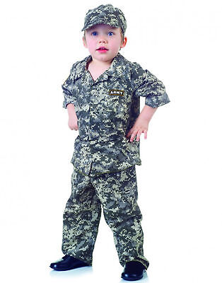 Army Camouflage Uniform Usa Toddler Halloween Costume