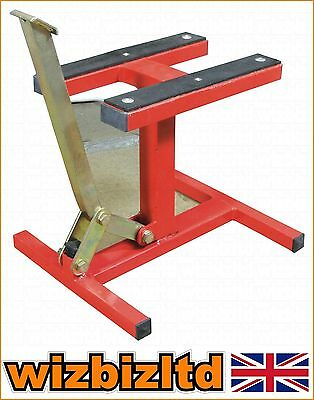 Pitbike Work Shop MOTO-X MX Trials Foot Operated Lift Stand Jack PDSMX06