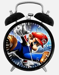 Super Mario Alarm Desk Clock 3.75 Home or Office Decor Z101 Nice For Gift