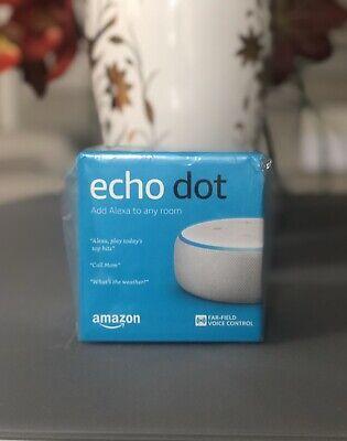 Amazon Echo Dot (3rd Generation) Smart Speaker with Alexa - Sandstone BRAND NEW