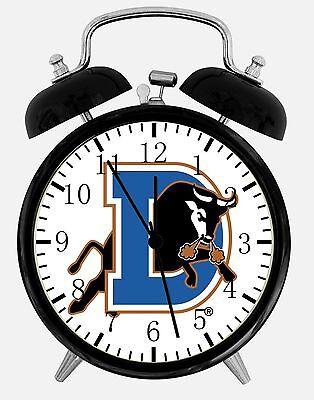 Bulls Desk Clock - Durham Bulls Alarm Desk Clock 3.75