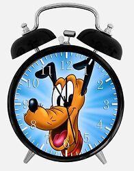 Disney Pluto Alarm Desk Clock 3.75 Home or Office Decor E250 Nice For Gift