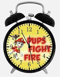 PAW Patrol Alarm Desk Clock 3.75 Home or Office Decor E422 Nice For Gift