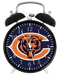 Chicago Bears Alarm Desk Clock Home or Office Decor F17 Nice Gift