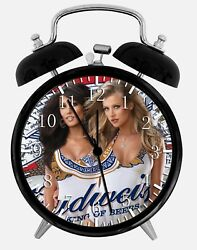 Sexy Beer Girls Alarm Desk Clock 3.75 Home or Office Decor Z77 Nice For Gift