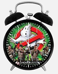 Ghostbusters Alarm Desk Clock 3.75 Home or Office Decor E274 Nice Gift