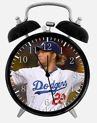 Clayton Kershaw Alarm Desk Clock 3.75 Home or Office Decor E472 Nice For Gift