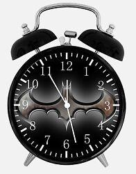 Batman Alarm Desk Clock 3.75 Home or Office Decor E151 Nice For Gift