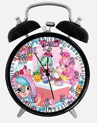 Shopkins Alarm Desk Clock 3.75 Home or Office Decor E484 Nice For Gift