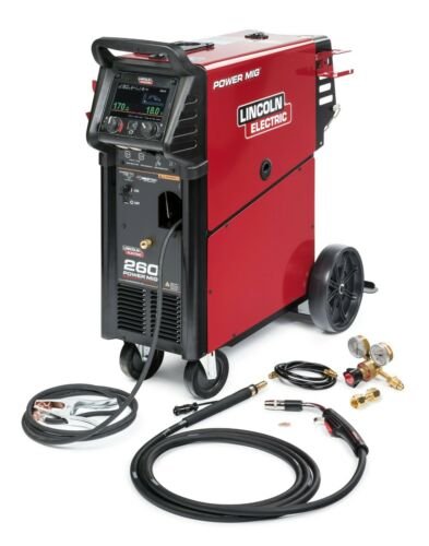 LINCOLN ELECTRIC POWER MIG 260 MIG WELDER K3520-1