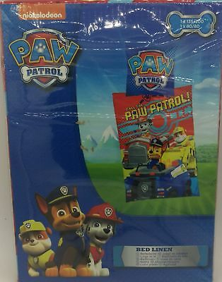 - Paw Patrol Bed Cover with Marshall, Rubble and Chase for Kids Children Bedding