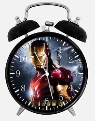 Ironman Alarm Desk Clock 3.75 Home or Office Decor Y23 Nice For Gift