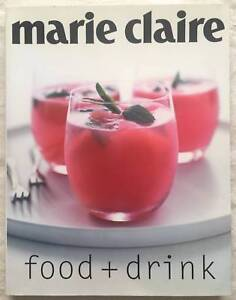 "Marie Claire cookbook ""Food  Drink"""