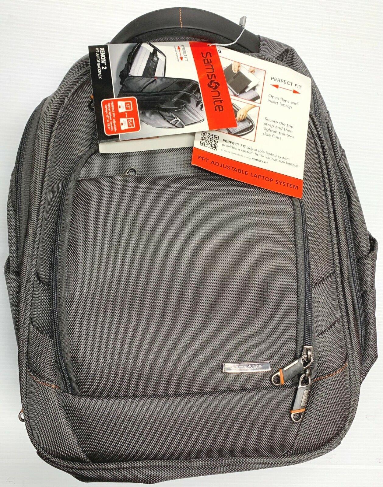 "Samsonite Xenon 2 Laptop Backpack Black 13 To 15.6"" Laptop A"