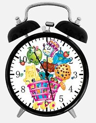 Shopkins Alarm Desk Clock 3.75 Room Office Decor E68 Will Be a Nice Gift
