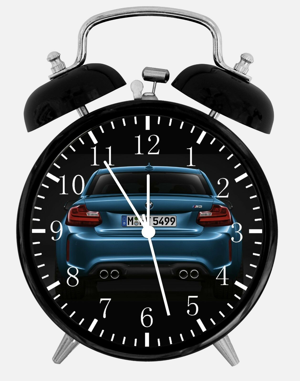 """BMW M2 Alarm Desk Clock 3.75"""" Home or Office Decor E267 Nice For Gift"""