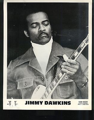 CHICAGO BLUES PUBLICITY PHOTO: JIMMY DAWKINS Leric Music/Isabel Record