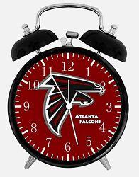 Atlanta Falcons Alarm Desk Clock 3.75 Home or Office Decor E196 Nice For Gift