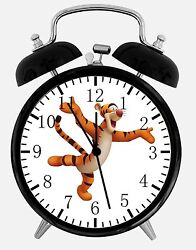 Tigger Winnie The Pooh Alarm Desk Clock 3.75 Home Decor E130 Nice For Gift