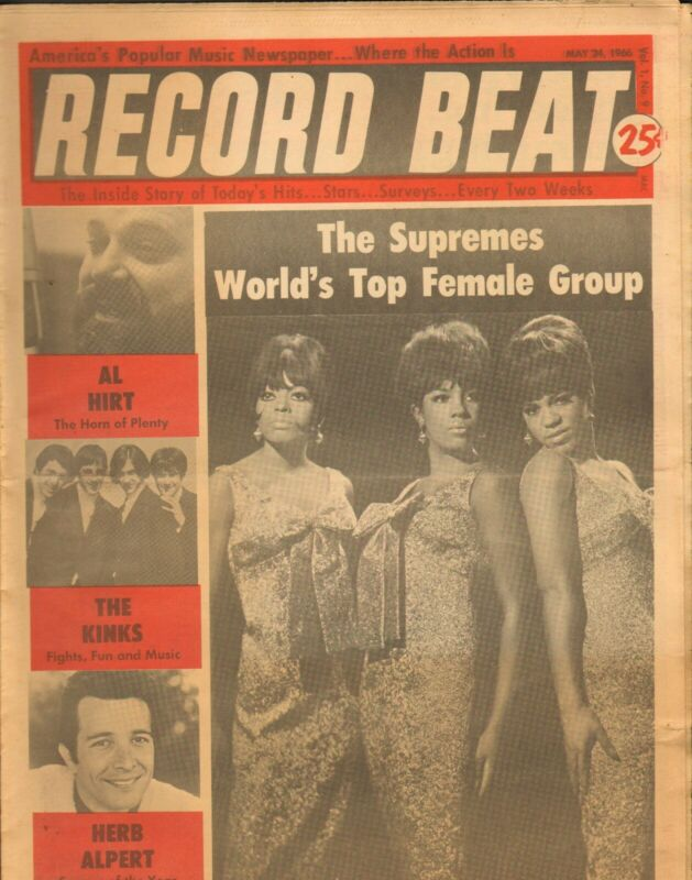 Record Beat Paper-May 24 1966 The Supremes-----3