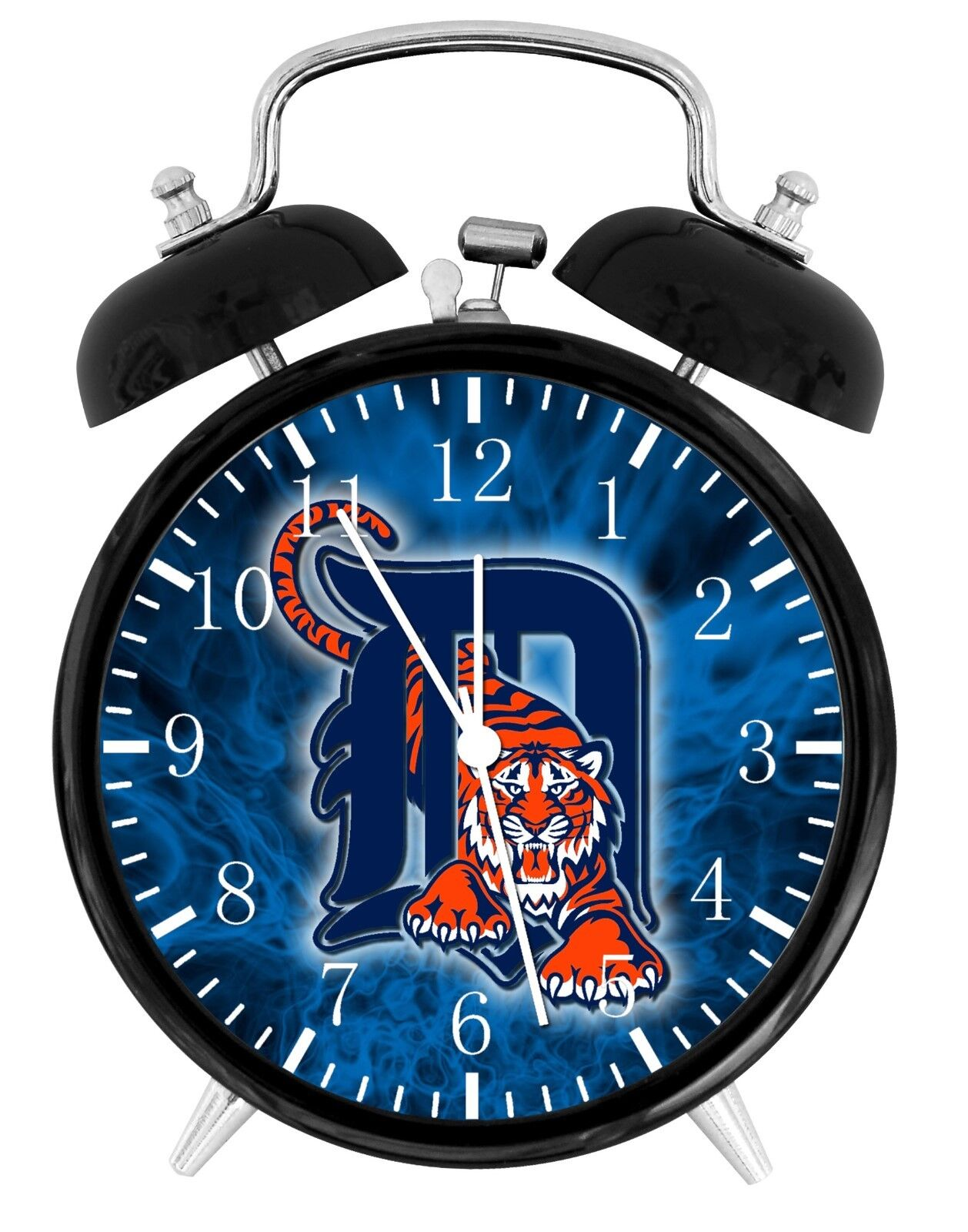 Detroit Tigers Alarm Desk Clock Home or Office Decor F94 Nice Gift
