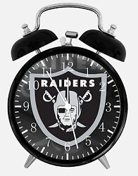 Oakland Raiders Alarm Desk Clock 3.75 Home or Office Decor E438 Nice For Gift