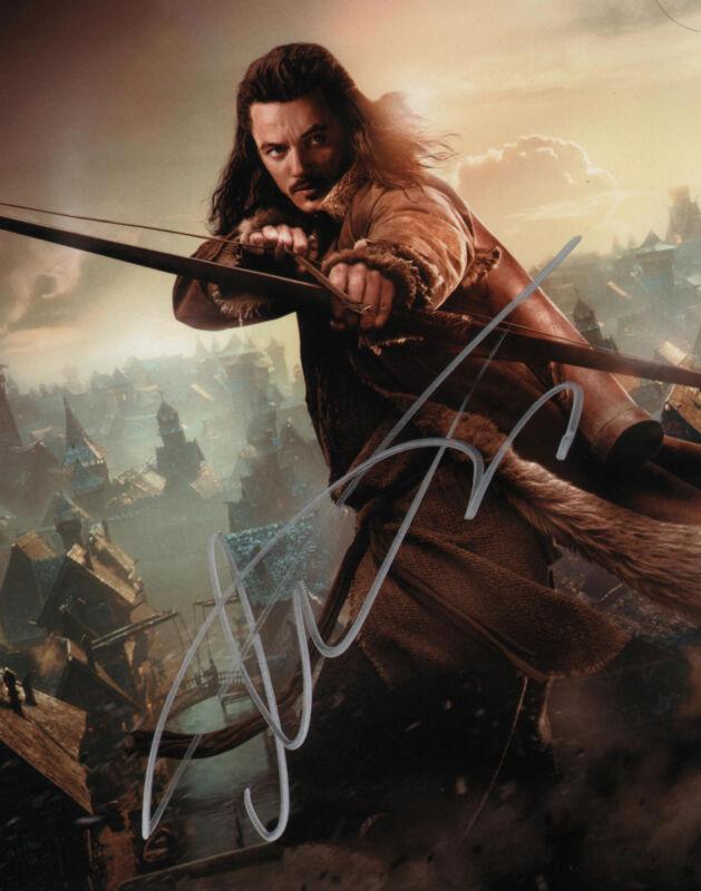 Hobbit Luke Evans Autographed Signed 8x10 Photo COA
