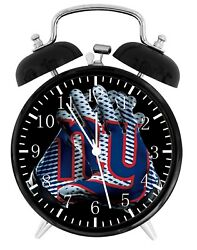 New York Giants Football NFL Alarm Desk Clock Nice For Decor or Gifts F129