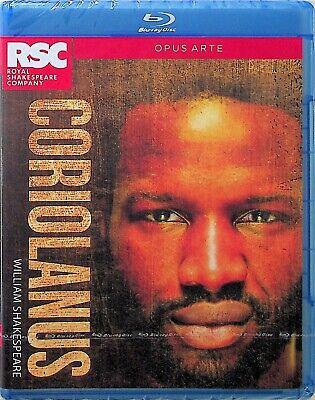 William Shakespeare -Coriolanus Blu Ray -NEW -RSC -Opus Arte Theatre Play (ABC)
