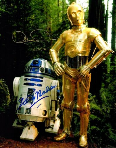 Anthony Daniels & Kenny Baker( Star Wars ) Autographed Signed 8x10 Photo Reprint