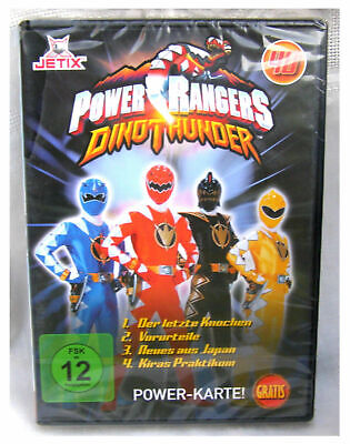 Nr. 40 DVD POWER RANGERS DINO THUNDER    Jetix OVP ( Powerrangers )wie neu (Power Rangers Dvds)