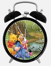 Winnie The Pooh Alarm Desk Clock 3.75 Room Office Decor X02 Will Be a Nice Gift
