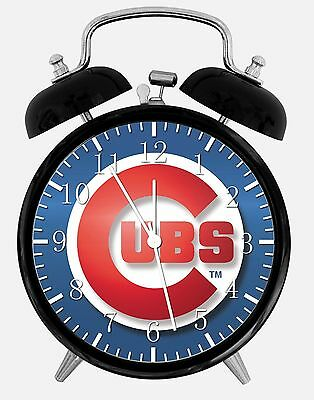 Chicago Cubs Alarm Desk Clock 3.75