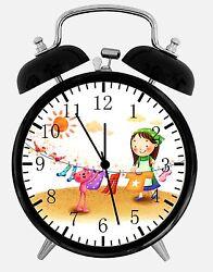 Laundry Alarm Desk Clock 3.75 Home or Office Decor E430 Nice For Gift