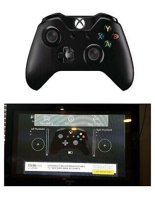 Microsoft Xbox One Wireless Controller / PC Wired Windows 10, Black- Model 1537