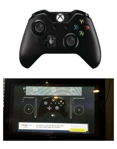 Microsoft Xbox One Wireless Controller / PC Wired Windows 10, Black- Model 1537