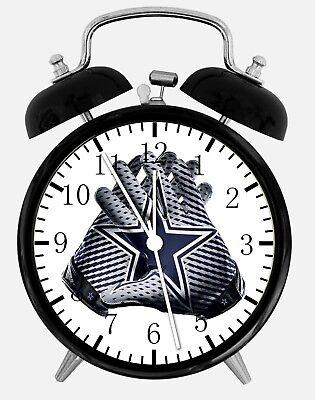 Dallas Cowboys Alarm Schreibtisch Uhr 9.5cm Heim oder Büro Dekor F11 Schön ()